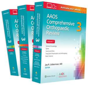 AAOS Comprehensive Orthopaedic Review 3: Print + Ebook imagine