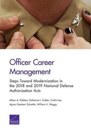 OFFICER CAREER MANAGEMENT