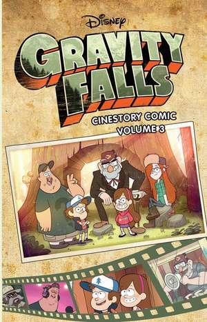 Disney Gravity Falls Cinestory Comic Vol. 3 de Disney