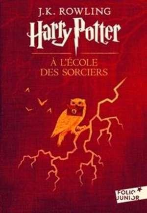 Harry Potter 1 à l'école des sorciers de J. K. Rowling