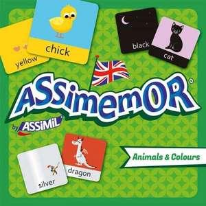 Assimemor Animals & Colours de Assimil