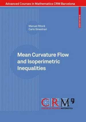 Mean Curvature Flow and Isoperimetric Inequalities de Manuel Ritoré