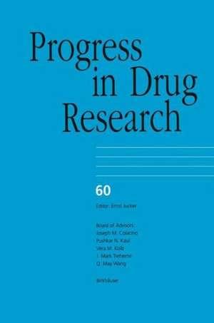Progress in Drug Research de Hao Wu