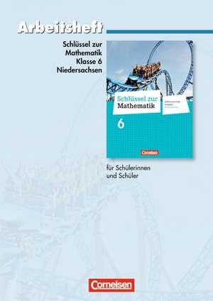 Schluessel zur Mathematik 6. Schuljahr. Arbeitsheft mit eingelegten Loesungen. Differenzierende Ausgabe Niedersachsen
