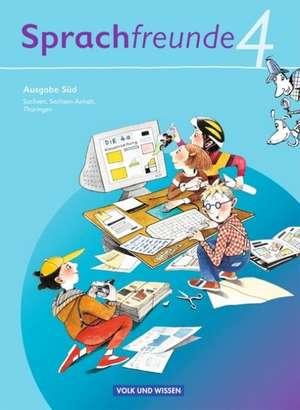 Sprachfreunde 4. Schuljahr. Sprachbuch Ausgabe Sued