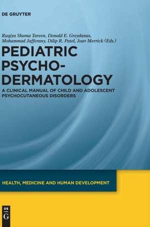 Pediatric Psychodermatology
