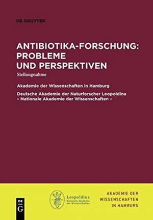 Antibiotika-Forschung: Probleme und Perspektiven
