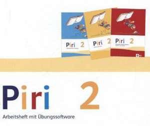 Piri Das Sprach-Lese-Buch. Arbeitsheft Druckschrift mit CD-ROM 2. Schuljahr