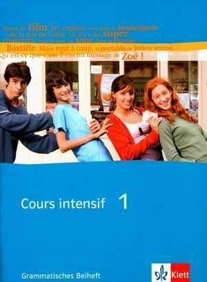 Cours intensif Neu 1. Grammatisches Beiheft