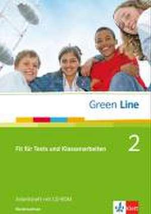 Green Line 2. Fit fuer Tests und Klassenarbeiten. Arbeitsheft und CD-ROM mit Loesungsheft. Niedersachsen