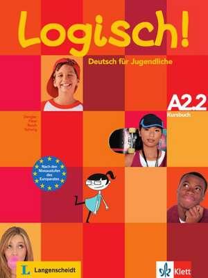 Logisch! Kursbuch A2.2 de Stefanie Dengler