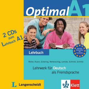 Optimal A1 - 2 Audio-CDs zum Lehrbuch A1