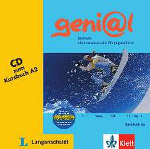 geni@l A2 - Audio-CD zum Kursbuch A2