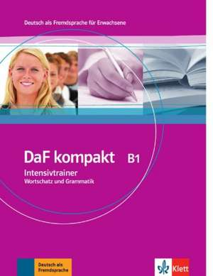 DaF kompakt. Intensivtrainer Wortschatz und Grammatik B1