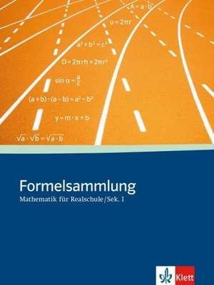 Formelsammlung Mathematik fuer Sekundarstufe I