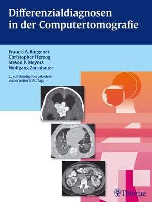 Differenzialdiagnosen in der Computertomografie