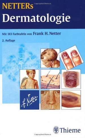 NETTERs Dermatologie de Frank H. Netter
