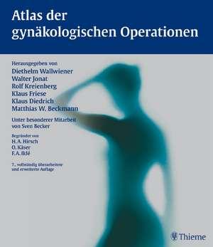Atlas der gynaekologischen Operationen
