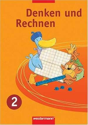 Denken und Rechnen 2. Schuelerband. Grundschule. Hessen, Rheinland-Pfalz