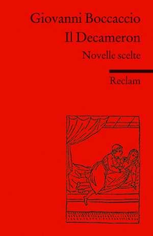 Il Decameron de Giovanni Boccaccio