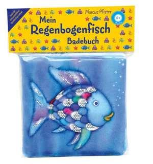 Das Regenbogenfisch Badebuch