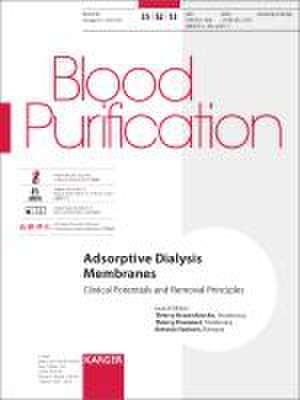 Adsorptive Dialysis Membranes