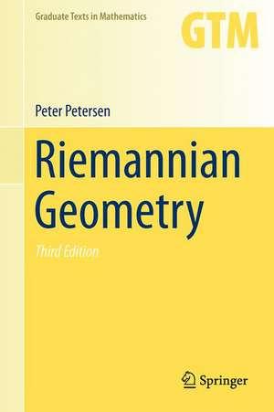 Riemannian Geometry de Peter Petersen