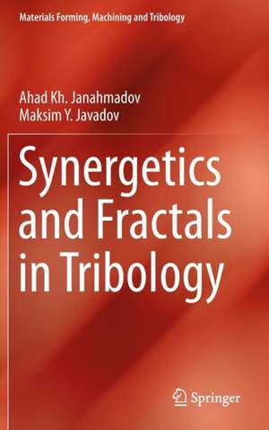 Synergetics and Fractals in Tribology de Ahad Kh Janahmadov