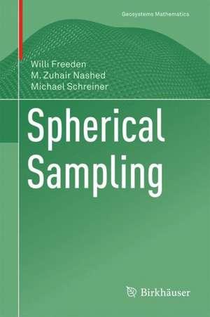 Spherical Sampling de Willi Freeden