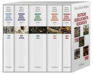 Deutsche Gesellschaftsgeschichte Band 1 - 5