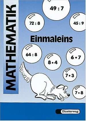 Mathematik-UEbungen. Arbeitsheft Einmaleins. Euro-A
