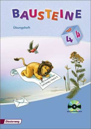 Bausteine Sprachbuch 4. UEbungsheft mit CD-ROM 2008. Allgemeine Ausgabe und Ausgabe Baden-Wuerttemberg