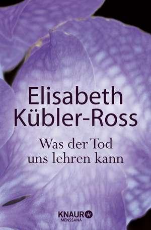 Was der Tod uns lehren kann de Elisabeth Kübler-Ross