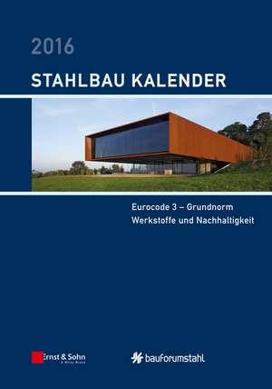 Stahlbau–Kalender 2016