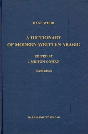 A Dictionary of Modern Written Arabic. Arabic - English