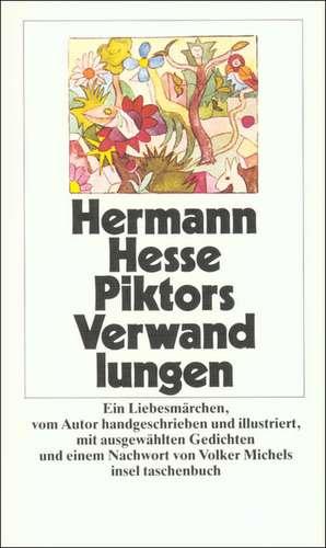 Piktors Verwandlungen de Hermann Hesse