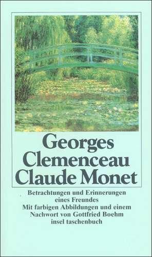 Claude Monet de Georges Clemenceau