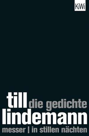 Die Gedichte de Till Lindemann