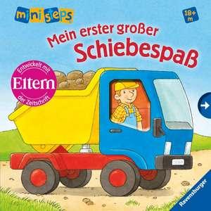 ministeps® Bücher: Mein erster großer Schiebespaß de Susanne Gernhäuser