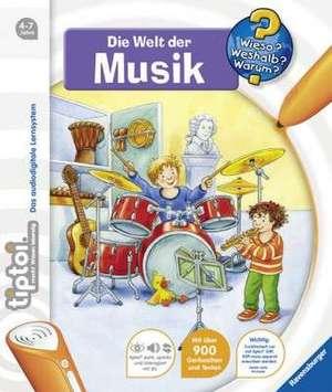 tiptoi® Die Welt der Musik: Copii de la 4 ani de Inka Friese