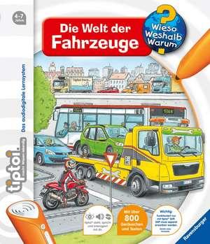 tiptoi® Die Welt der Fahrzeuge de Daniela Flucht