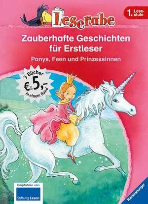 Leserabe: Zauberhafte Geschichten für Erstleser. Ponys, Feen und Prinzessinnen de Cornelia Neudert