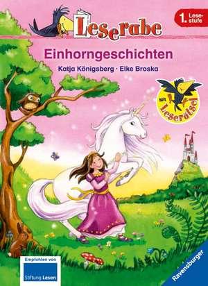 Leserabe: Einhorngeschichten de Katja Königsberg