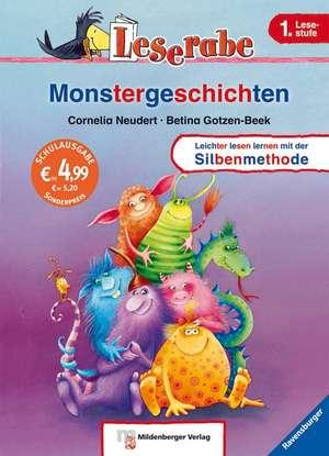 Leserabe mit Mildenberger. Monstergeschichten de Cornelia Neudert