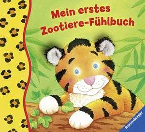 Mein erstes Zootiere-Fühlbuch de Sandra Grimm