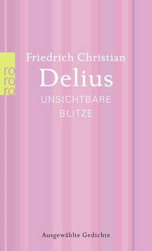 Delius, F: Unsichtbare Blitze