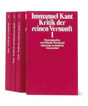 Die Kritiken de Immanuel Kant