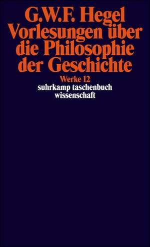 Vorlesungen ueber die Philosophie der Geschichte.