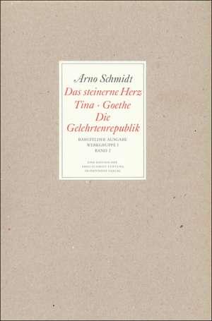 Bargfelder Ausgabe. Standardausgabe. Werkgruppe 1, Band 2