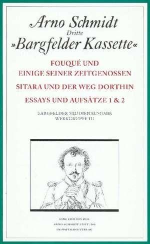 Bargfelder Ausgabe. Studienausgabe. Werkgruppe 3, Band 1-4